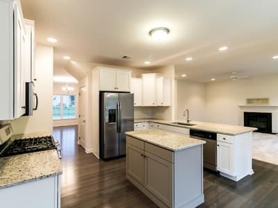 Kingston Kitchen. Kingston New Home in Coopersburg, PA
