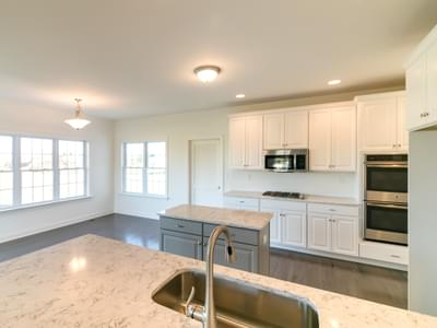 Kingston Kitchen. Coopersburg, PA New Home