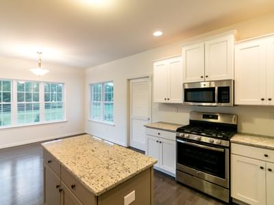 Kingston Kitchen. 2,475sf New Home in Coopersburg, PA