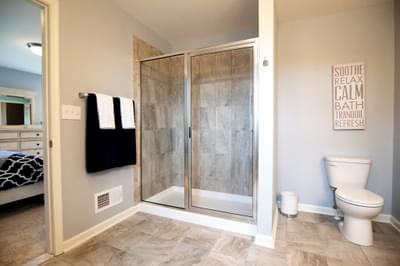 Kingston Owner's Bath. 4br New Home in Coopersburg, PA