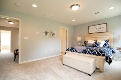 Kingston Owner's Suite. Kingston New Home in Coopersburg, PA