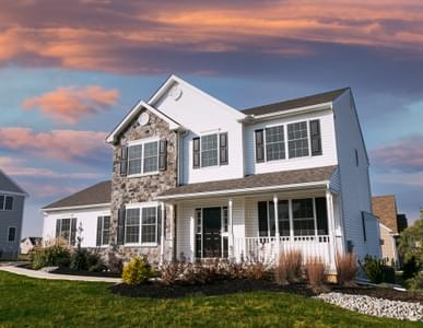Kingston Country - Exterior. 4br New Home in Coopersburg, PA