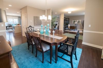 Meridian Dining Rom. New Home in Tatamy, PA