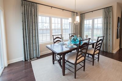 Meridian Dining Rom. 2,820sf New Home in Tatamy, PA