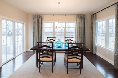 Meridian Dining Rom. Meridian New Home in Tatamy, PA