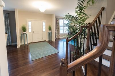 Meridian Foyer. Tatamy, PA New Home