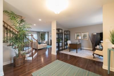 Meridian Study. Meridian New Home in Tatamy, PA