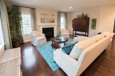 Meridian Great Room. Meridian New Home in Tatamy, PA
