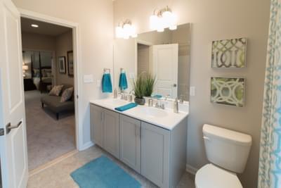 Meridian Hall Bath. Meridian New Home in Tatamy, PA