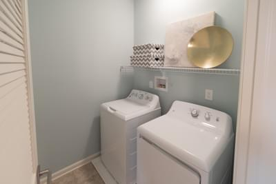 Meridian Second Floor Laundry. 2,820sf New Home in Tatamy, PA