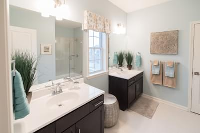 Meridian Owner's Bath. 4br New Home in Tatamy, PA