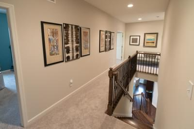 Meridian Second Floor Hall. 4br New Home in Tatamy, PA