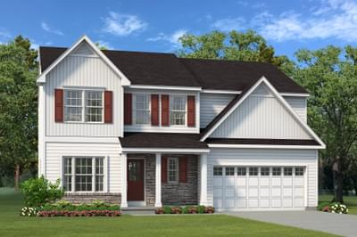 The Morgan New Home Plan in Drums PA
