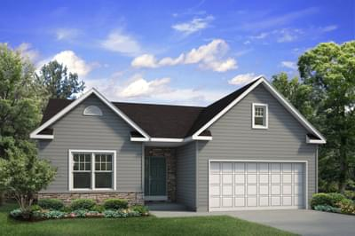 The Pinehurst New Home Plan in Drums PA