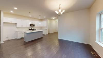 Reserve Inglewood II Kitchen. 1,700sf New Home in Drums, PA