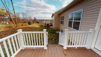 Reserve Inglewood II Optional Trex Deck. 35 Reserve Drive #26, Drums, PA