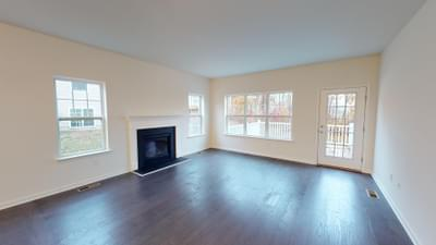 Reserve Inglewood II Great Room. New Home in Drums, PA