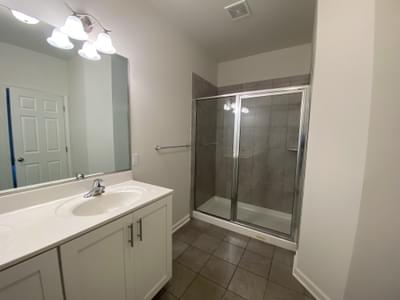 Reserve Inglewood II Owner's Bath. 3br New Home in Drums, PA