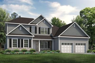 The Sienna New Home Plan in Easton PA