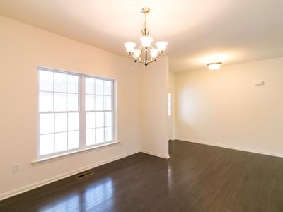 St. Andrews Dining Room. 1,776sf New Home in White Haven, PA