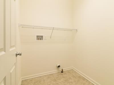 St. Andrews Laundry Room. New Home in White Haven, PA