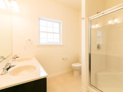 St. Andrews Owner's Bath. St. Andrews New Home in White Haven, PA