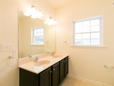 St. Andrews Owner's Bath. White Haven, PA New Home