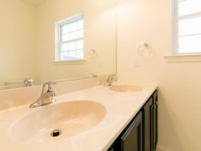 St. Andrews Owner's Bath. New Home in White Haven, PA