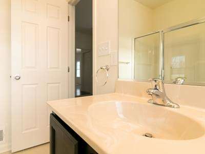 St. Andrews Owner's Bath. 1,776sf New Home in White Haven, PA