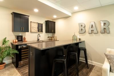 Vinecrest Optional Finished Basement. New Home in Easton, PA