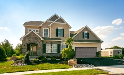 Vinecrest Cottage Exterior. Easton, PA New Home