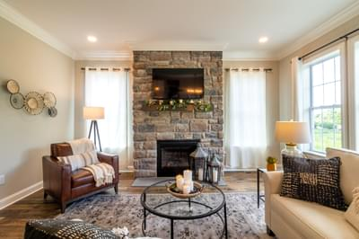Vinecrest Great Room. 2,700sf New Home in Easton, PA