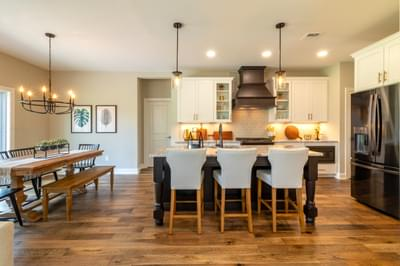 Vinecrest Kitchen. 2,700sf New Home in Easton, PA