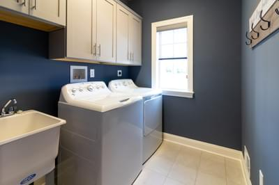 Vinecrest Laundry Room. 4br New Home in Easton, PA