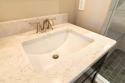 Vinecrest Owner's Bath. 2,700sf New Home in Easton, PA