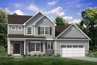The Vinecrest New Home Plan in Easton PA