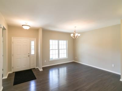 Woodbury Foyer & Dining Room. 2,007sf New Home in Easton, PA