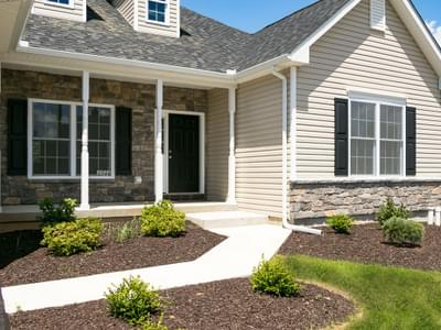 Woodbury Traditional Exterior. Woodbury New Home in Easton, PA
