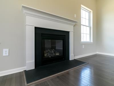 Woodbury Great Room. 2,007sf New Home in Easton, PA