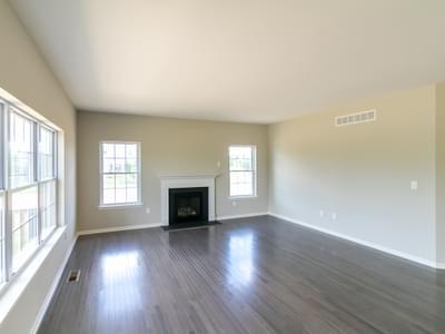 Woodbury Great Room. Easton, PA New Home