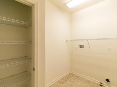Woodbury Laundry Room. Easton, PA New Home