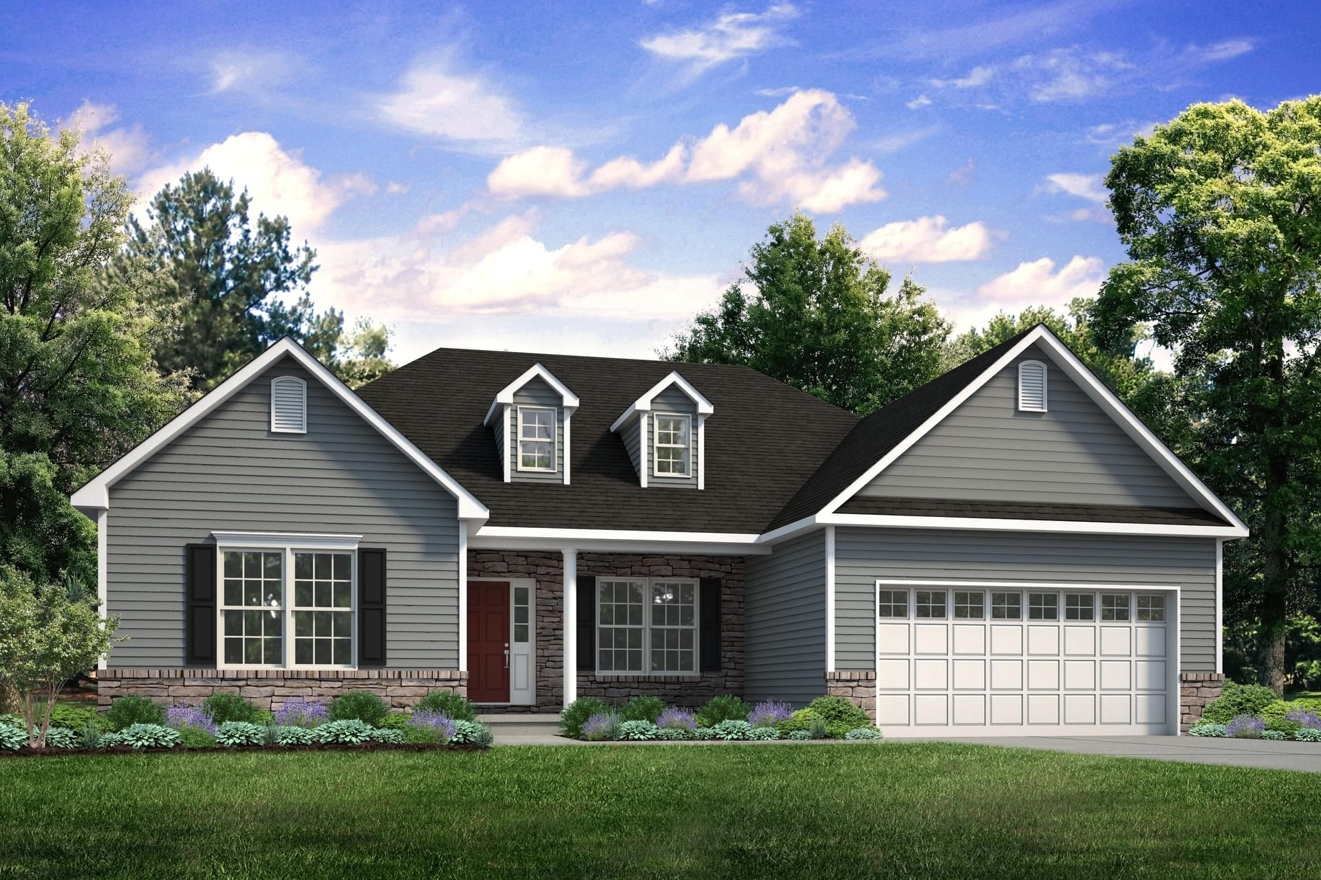 The Woodbury New Home in Easton PA - Northwood Farms