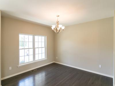Woodbury Dining Room. New Home in Easton, PA