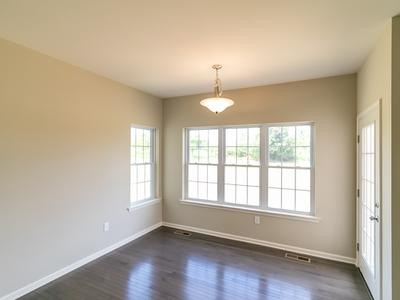 Woodbury Dining Nook. 2,007sf New Home in Easton, PA