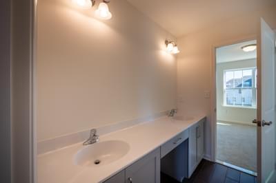 Jereford Jack-n-Jill Bathroom. Easton, PA New Home