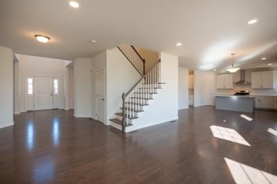 Jereford Great Room. New Home in Easton, PA