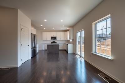 Chapman Great Room. Chapman New Home in Schnecksville, PA