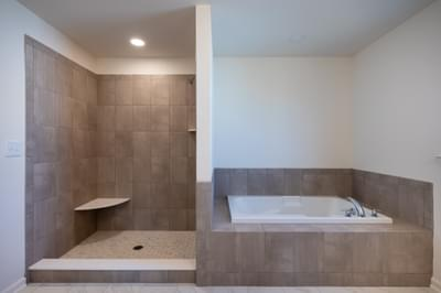 Jereford Owner's Bath. 3,442sf New Home in Easton, PA