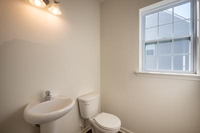 Jereford Powder Room. New Home in Easton, PA