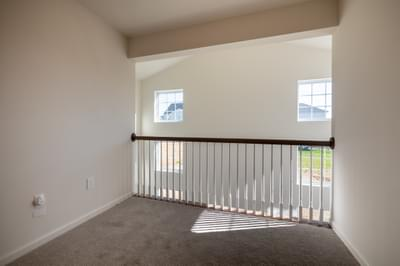 Jereford Second Floor Balcony. 4br New Home in Easton, PA